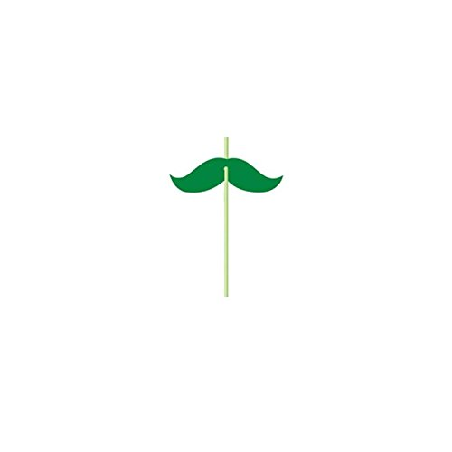 club-pack-of-72-green-mustache-st-patricks-day-straw-party-favors