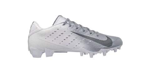 Nike Men's Vapor Speed 3 TD Football Cleats (7 M US, White/Metallic/Dark Grey) (Nike Vapor Carbon Fly Td Cleats For Sale)