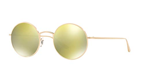Oliver Peoples AFTER MIDNIGHT OV1197ST - 5252W4 Sunglasses BRUSHED GOLD ()