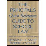 Read Online Principal's Quick-Reference Guide to School Law (02) by Dunklee, Dennis R - Shoop, Robert J [Paperback (2001)] pdf epub