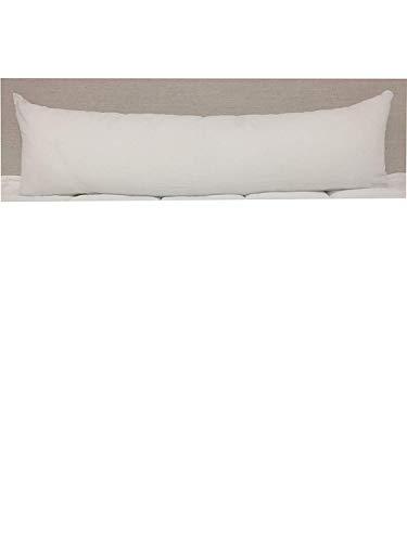 14 Ounce Polyester - Koni Boudoir Pillow Insert, Polyester, 14 oz, White, 12x33 in.