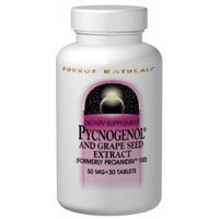 Pycnogenol, 25 MG, 60 Tabs by Source Naturals (Pack of 6) by Source Naturals