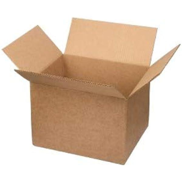 Pack de 5 cajas de cartón sencillo. 4 solapas | Sumicel® (200 x 200 x 200 mm | N1): Amazon.es: Industria, empresas y ciencia