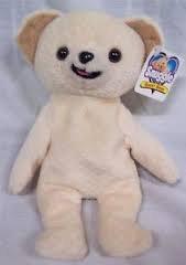 """Snuggle Bear Mini Bean Bag 8"""""""