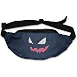 AUSIN Unisex Cartoongengar Face Running Waist Bag Pack Navy