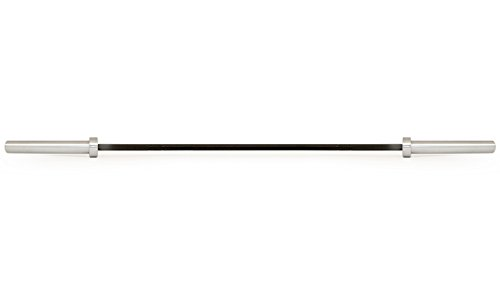 ProSource Olympic Barbell Multipurpose Weight Lifting Bar, 160k PSI for Men (7ft) & Women (6.5ft)