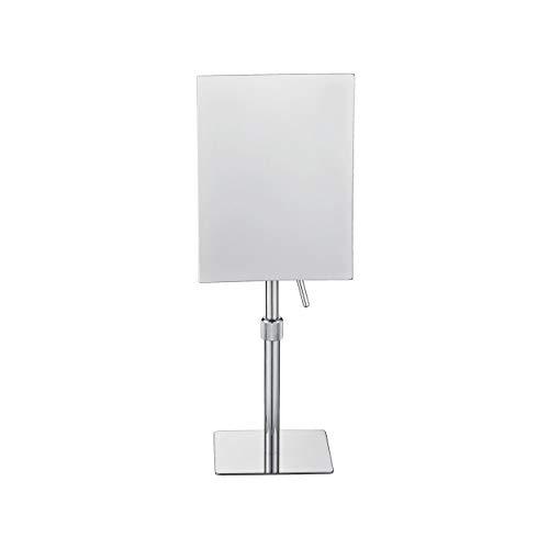 Aqua Piazza by KubeBath Magnifying Mirror With Adjustable Height