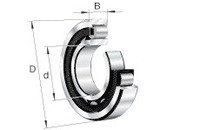 FAG NU205-E-TVP2 Cylindrical Roller Bearing Schaeffler Group Industrial