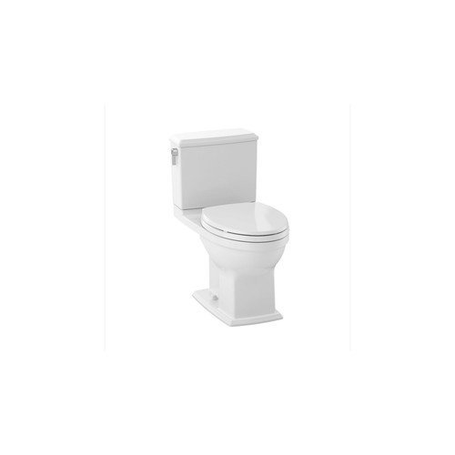 Toto CST494CEMFG#01 Connelly Two-Piece 1.28 GPF and 0.9 GPF Toilet Bowl and Tank Less Seat, Cotton White