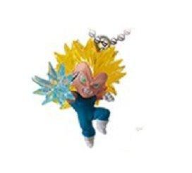 Dragon ball Z~The Best 04~Ultimate Deformed Mascot~Pvc Figure Keychain~SS 3 Vegeta~Size 38mm
