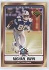 Michael Irvin (Football Card) 2007 Topps - Hall of Fame #HOF-MI