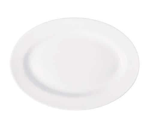 Travessa Actualite Corona Porcelana 40x28