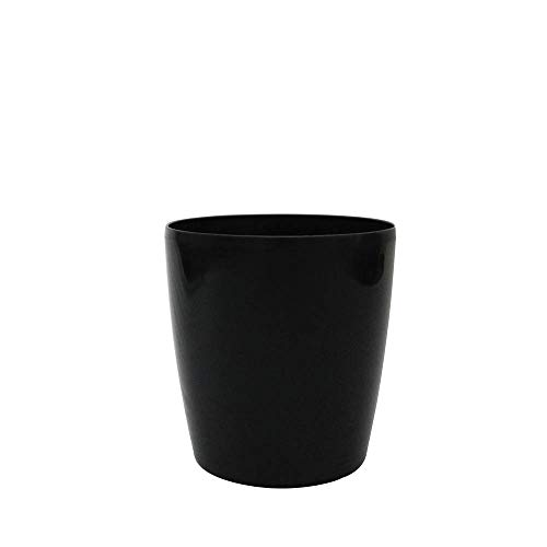 Vaso Orquidea 15 X 16 cm Preto