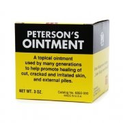- Petersons dry skin ointment tin - 3 oz