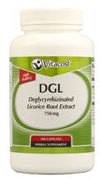 Vitacost DGL Deglycyrrhizinated Licorice Root Extract -- 750 mg - 100 Capsules ()