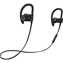 Beats By Dr. Dre Powerbeats3 Wireless In-Ear Stereo Headphones Bluetooth - Black (Renewed) (Refurbished Powerbeats2 Wireless)