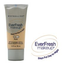 Maybelline EverFresh Makeup, 1.3fl. oz. 38 ml , Soft Cameo