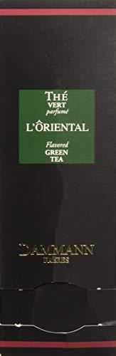 DAMMANN FRERES - L'Oriental Green Tea - 24 wrapped crystal enveloped tea bags