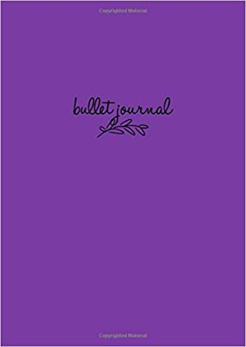 Bullet Journal: Lila Notizbuch A5 Dotted, Bullet Journal ...