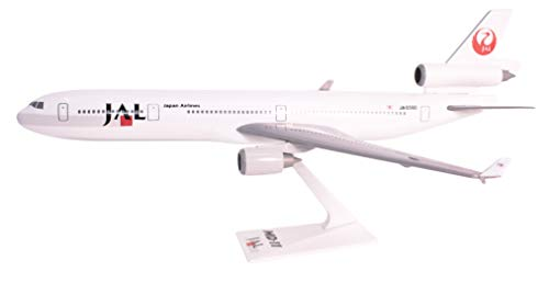 Japan Airlines (89-03) MD-11 Airplane Miniature Model Plastic Snap-Fit 1:200 Part# AMD-01100H-016