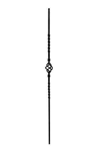 (Iron Balusters - Single Basket - Hollow - 44