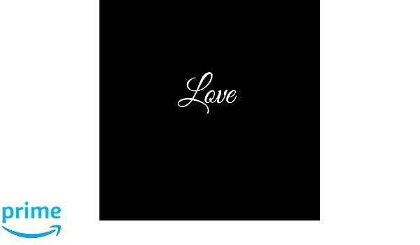 Love: Libro De Visitas Love para bodas decoracion accesorios ideas regalos matrimonio eventos firmas fiesta hogar invitados boda 21 x 21 cm Cubierta Negro ...