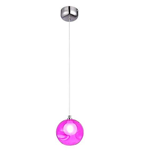 Pendant Light Industrial Design E27Oom Chandeliers Stained Glass Bubble Ball Chandelier Warm Bedroom