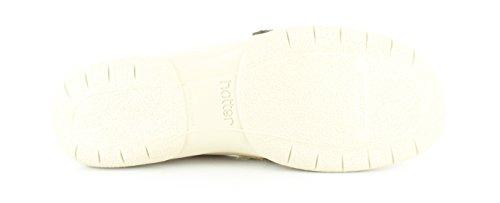 Nuovo Donne/Donna Colore Beige Hotter Nirvana Pelle Scarpe Stile Mary Jane beige - NUMERI UK 4.5-6.5
