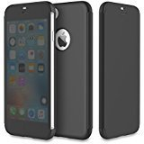 Front Cover Window (iPhone 8 Plus/7 Plus Case, Clear View Translucent Touch Sensible Ultra Thin Slim Window Front Flip Cover CaseShockproof Dirt Proof Flip Case Cover for Apple 5.5'' iPhone 8 Plus/7 Plus)
