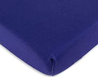 product image for SheetWorld FLAT Crib / Toddler Sheet - Purple Jersey Knit - Made In USA