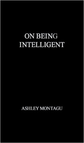 Casella e-book: On Being Intelligent. by Ashley Montagu PDF CHM ePub