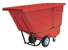 Rubbermaid Commercial Products Rcp 1315 Red [Hc]Tilt Truck 1 Cu Yd| Red RCP 1315 RED