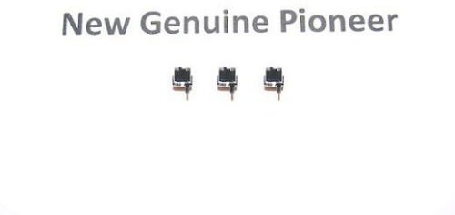 3x (Pieces) New Pioneer Home Push Switch DSG1016 For models XR-J2500F XR-J330 XR-MR7 XR-P150 XR-P160 XR-P2000 XR-P250 XR-P260 XR-P350 XR-P3500M XR-P360 XR-P460 by PIONEER_SERVICE_PARTS