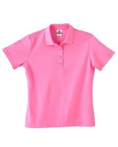 Cotton Pique Polo 035 Hanes Stedman Ladies 7 oz