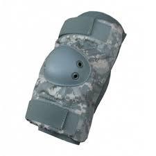 Elbow Pads, NSN 8415-01-530-2148, SMALL, ACU Pattern, U.S. Army / USGI Issue