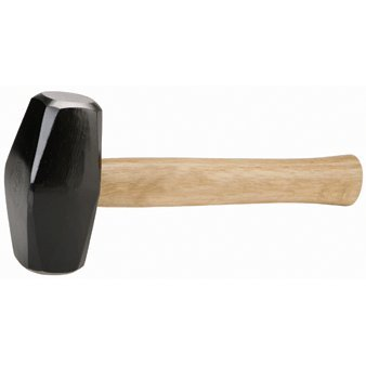 Pittsburgh 3 lb. Drilling Hammer with Hardwood Handle by Pittsburgh