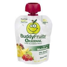 Buddy Fruits Original Blended Fruit Apple & Multifruit, 16 Count Pouches 3.2oz by Buddy Fruits (Image #2)
