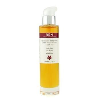 (REN Moroccan Rose Otto Ultra-Moisture Body Oil by REN Clean Skincare)