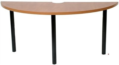 Amazoncom Half Round Cafeteria Dining Table Conference - Half circle conference table