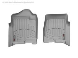 WeatherTech Custom Fit Front FloorLiner for Cadillac Escalade, Grey