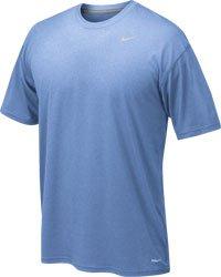 Away Shirt Nike (NIKE Men's Legend Short Sleeve Tee, Light Blue, 2XL)