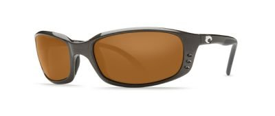 Costa Del Mar Brine Sunglasses, Gunmetal, Copper 580Plastic Lens