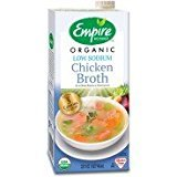 Empire Kosher Chicken Broth Gluten Free Kosher For Passover 32 oz. Pack of 6.