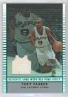 (Tony Parker (Basketball Card) 2002-03 Topps Jersey Edition - [Base] #je TPA)