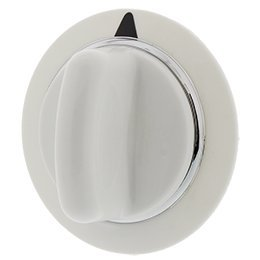 WE01X20374 Dryer Timer Control Knob White for GE,Hotpoint, Clothes Dryer Panel