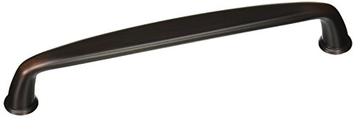 ane 6-5/16 in (160 mm) Center-to-Center Oil-Rubbed Bronze Cabinet Pull (Amerock Kane Cabinet)