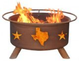 Cheap Patina Products F102 Texas State and Stars Fire Pit