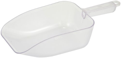 (Winco White Utility Plastic Scoop, 50-Ounce)