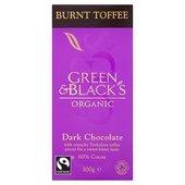 - Green & Blacks Org Dark Burnt Toffee 100G by Green & Black's