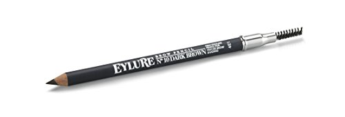 Eylure Brow Defining and Shading, Firm Pencil, Brow Crayon, Dual Ended, Dark Brown -